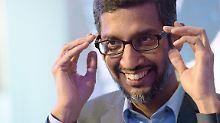 Aktienpaket für Sundar Pichai: Google-Chef erhält 380-Millionen-Bonus