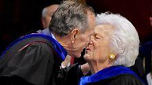Nach Barbaras Tod im Krankenhaus: Leidet Bush am Broken-Heart-Syndrom?