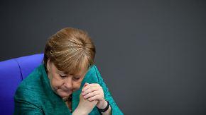 Arbeitstreffen im Weißen Haus: Drohende US-Strafzölle gegen EU belasten Merkel-Besuch