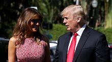 """""""Happy Birthday, Melania"""": Das schenkt Donald Trump seiner Frau"""