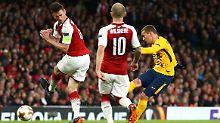 Salzburg braucht EL-Wunder: Griezmann schockt Arsenal mit spätem Tor