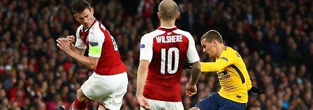 Salzburg braucht ein Wunder: Griezmann schockt Arsenal mit spätem Tor
