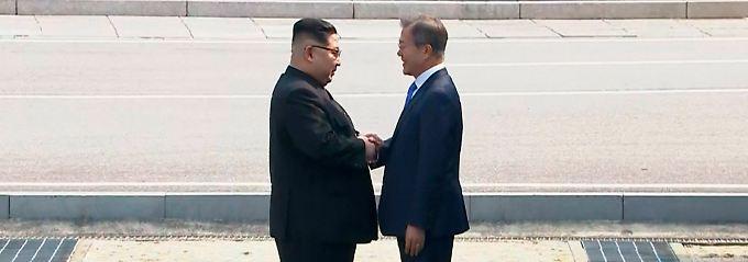 """Spannung vor dem Koreatreffen: Kim kündigt """"offene Diskussion"""" mit Süden an"""