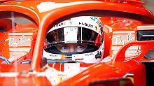 Auf Mercedes wartet viel Arbeit: Vettel lahmt in Baku, Ricciardo in Topform