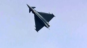 Fliehkräfte von bis zu 9 G: Eurofighter-Piloten zeigen auf ILA ihr Können