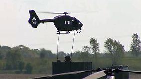 Militärvorführung auf der ILA: Luftwaffe präsentiert ihre Maschinen