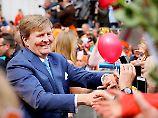 Willem-Alexander ist beim Volk sehr beliebt.