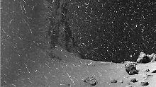 """Wissenschaftler erklärt Video: """"Schneebilder"""" auf Tschuri machen Furore"""