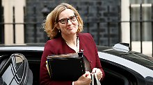 Wegen Einwanderer-Skandal: Britische Innenministerin Rudd tritt zurück