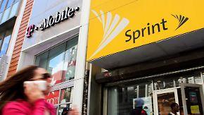 Beben auf dem US-Mobilfunkmarkt: T-Mobile und Sprint einigen sich auf Fusion