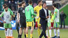 Bruno Labbadia muss aus seinen Spielern auf der Saisonzielgraden ein Team formen.