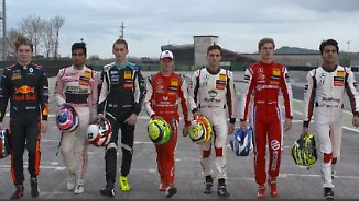 Mick Schumacher heiß auf F3-Saison: Diese Nachwuchsrennfahrer wollen in die Königsklasse