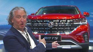 """""""Wichtigste Automesse der Welt"""" in Peking: Chinesen setzen auf Beinfreiheit"""