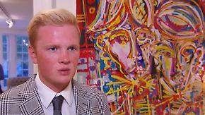 Shootingstar stellt in New York aus: 20-jähriger Leon Löwentraut begeistert die Kunstwelt