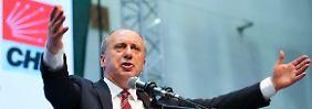 Kandidat der Massen?: Muharrem Ince will Erdogan besiegen