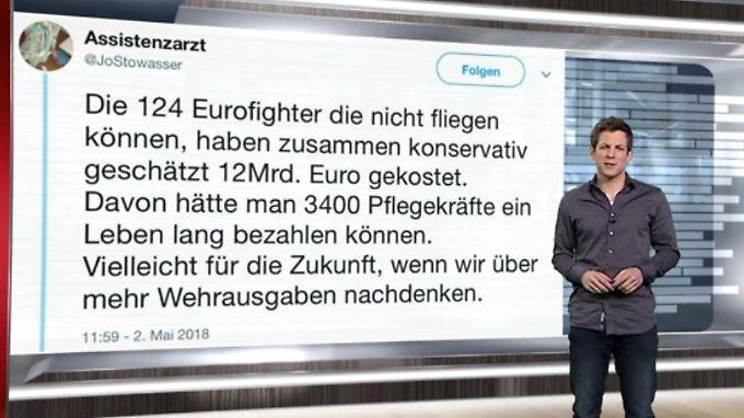 n-tv Netzreporter: User kritisieren von der Leyens #Bundeswehr-Reform