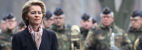 Umbau der Bundeswehr: Von der Leyen kämpft mit der Realität