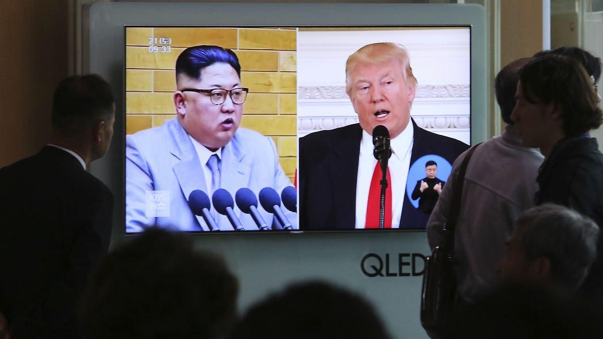 Trump und Kim treffen sich in Singapur