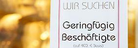 Teilzeit, Leiharbeit, Minijobs: In Deutschland nimmt Niedriglohnarbeit zu
