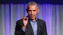 """Atomabkommen aufgekündigt: Obama kritisiert """"ernsten Fehler"""" von Trump"""