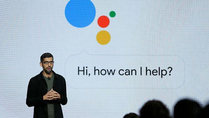 Google-Chef Sundar Pichai demonstrierte, was Sprachassistenten schon in naher in Zukunft können werden.