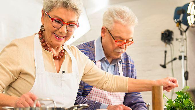 Teamwork mit Herz und Verstand: Martina und Moritz in ihrem Element.