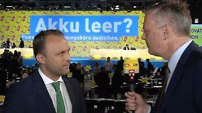 """Sebastian Czaja im n-tv Interview: """"Engagement ist keine Frage von Männlein oder Weiblein"""""""