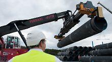 Diskussion um Nord Stream 2: Steinmeier macht Ukraine Erdgas-Zusagen