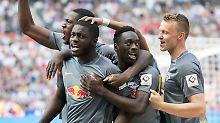 Trainercrash nach Europa-Rausch?: RB Leipzig feiert Tor-Gala, der Boss flüchtet