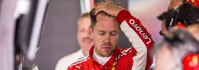 """""""Wir müssen aber auch sicherstellen, dass wir die Probleme ansprechen"""": Sebastian Vettel."""