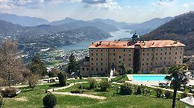 Cademario bietet 2300 bis 2400 Sonnenstunden im Jahr.