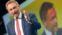 "Christian Lindner lässt kein gutes Haar an der ""Methode Merkel""."