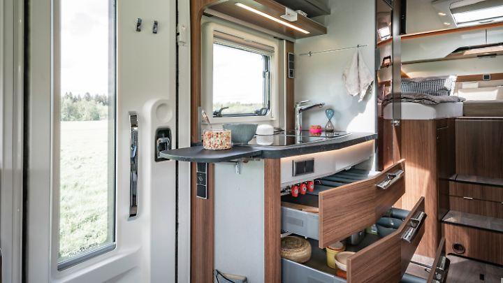 Das neu gestaltete Innenraum- und Möbeldesign soll besonders mit hellen Möbeln modernen Ansprüchen gerecht werden.