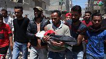 Ersticktes Baby im Gazastreifen: Mediziner zweifelt am Tränengas-Tod