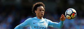 Leroy Sané hat sich bei Man City zu einem Topspieler entwickelt - jetzt muss er auch Löw von sich überzeugen.