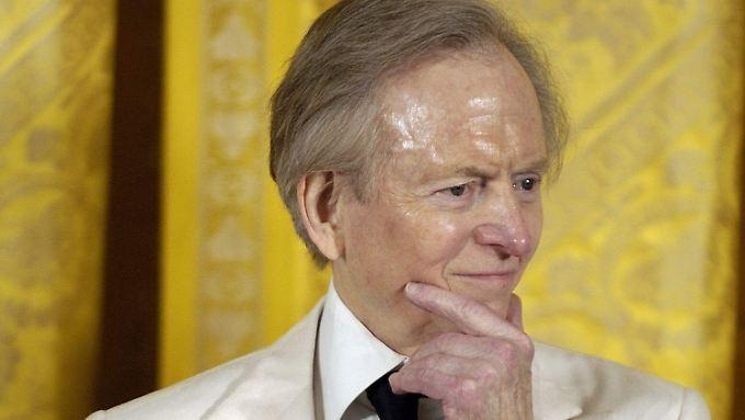 Scharfzüngiger Beobachter und feinem Zwirn: Den weißen Anzug machte Tom Wolfe zum Markenzeichen.