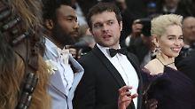 """Jubel und Gekreische: """"Solo: A Star Wars Story"""" feiert Premiere"""