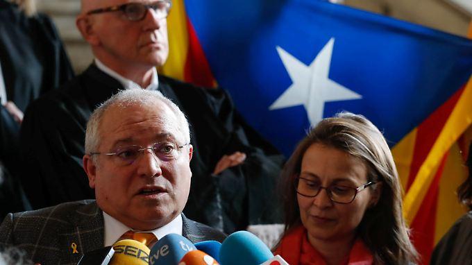 Der frühere katalanische Kulturminister Lluis Puig i Gordi wird von der belgischen Justiz nicht ausgeliefert.