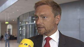 """Christian Lindner im Interview: """"Die Regierung will Taschengeld verteilen"""""""