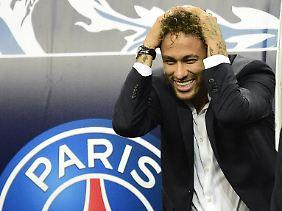 Bereit für die WM: Brasiliens Superstar Neymar.
