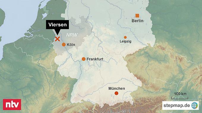 Schweres Unwetter im Westen: Tornado wütet in Nordrhein ...