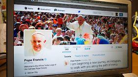 Papst Franziskus ist selbst ein eifriger Twitter-User.