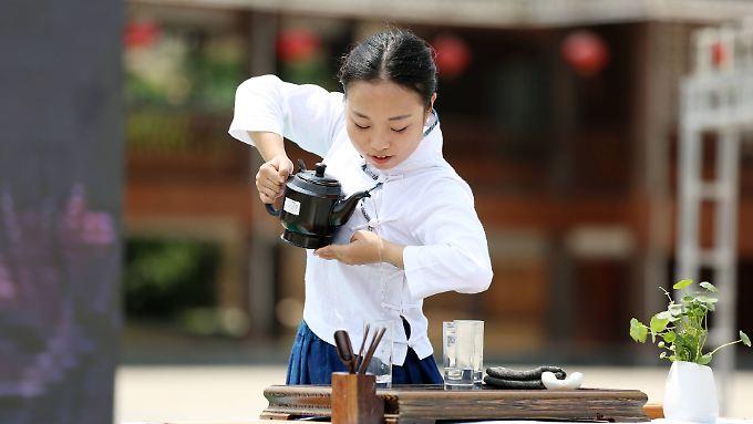 Die chinesische Tee-Kultur ist die älteste ihrer Art.