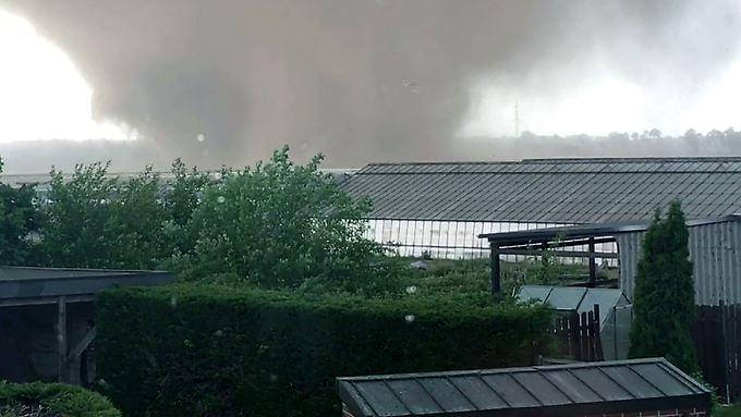 Der Tornado in Schwalmtal in Nordrhein-Westfalen kam unverhofft.