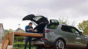 Discovery inspiriert von Jamie Oliver: Range Rover baut fahrende Luxusküche