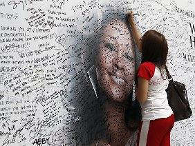 Zahlreiche Fans weltweit nahmen 2012 Abschied von Whitney Houston.