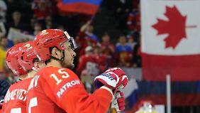 Oh Canada! - Im Spiel der Eishockey-Nationen setzten sich die Ahornblätter am Ende durch.