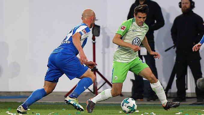 Torschütze Josip Brekalo sorgte für Wirbel über die Flügel.