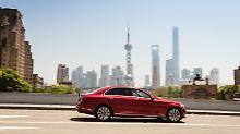 In Shanghai sind die Straßen selten so leer wie auf diesem Bild.