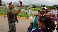 Gefängnisaufstand in Venezuela: Häftlinge und Wärter sterben bei Schießerei